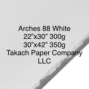 Arches 88 Printmaking Paper