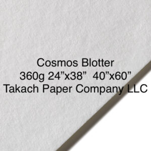 Blotting Cosmos blotter