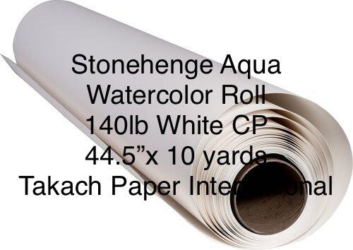 Stonehenge Aqua Watercolor Roll